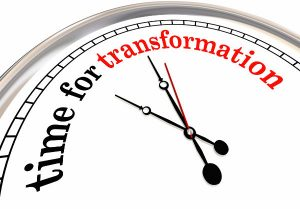 time for transformation